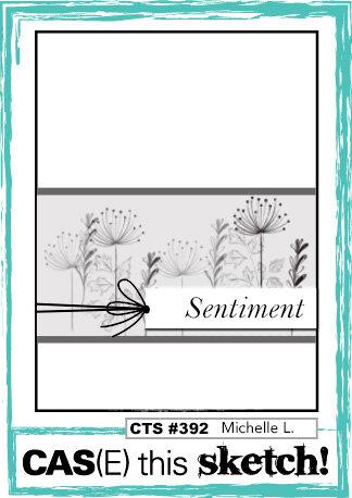 March 2021 Card Sketch Challenge - Sketch #1