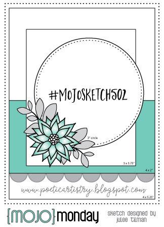 March 2021 Card Sketch Challenge - Sketch #5