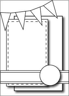 May 2021 Card Sketch Challenge - Sketch #2