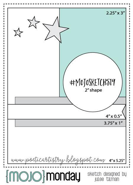 September 2019 Card Inspiration Challenge - Sketch