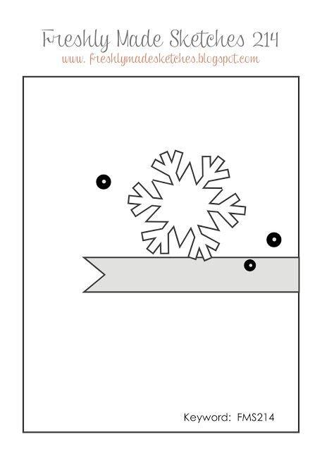 November Card Sketch Challenge - Sketch #2