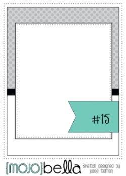 October Card Sketch Challenge - Sketch #2