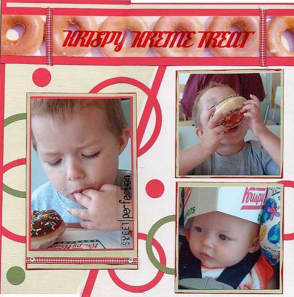 Krispy Kreme Treat--BH Sketch Challenge #36