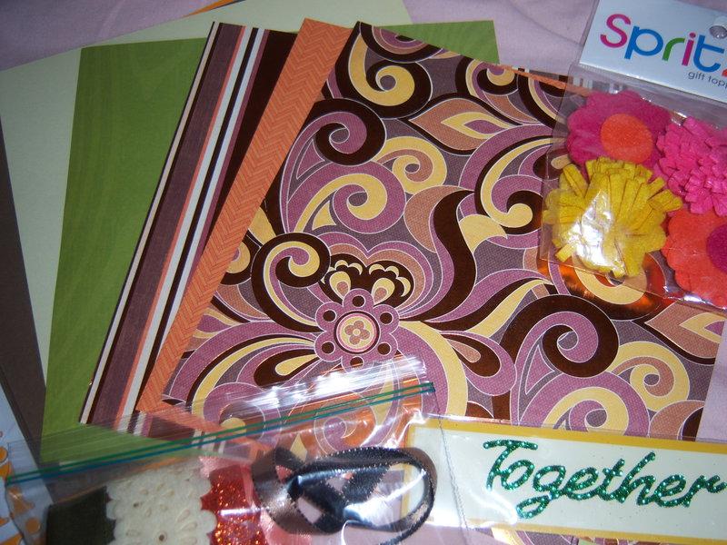 April 8X8 Kit Swap - Orange theme