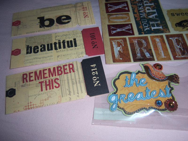April 8X8 Kit Swap - Bird theme