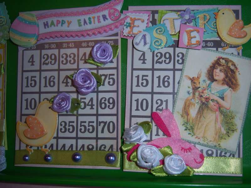 Altered Bingo Cards Swap