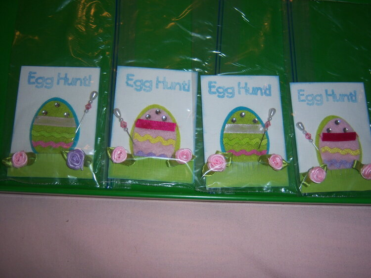 Easter Goodie Bags and Handmades