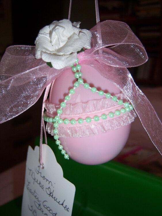 Easter Goodie Bags and Handmade Swap