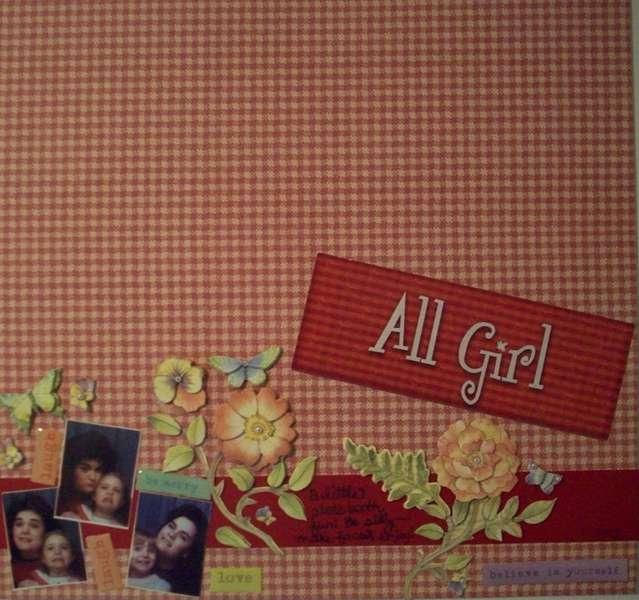 All Girl Photo Booth Fun