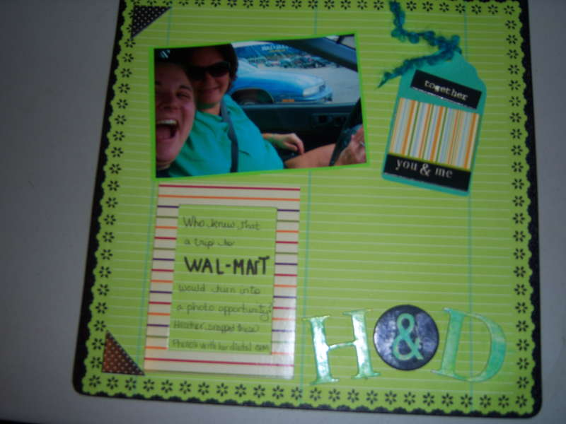 Trip to Walmart with my daughter page 1
