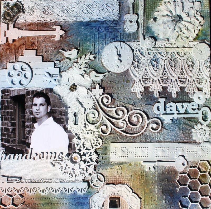 Dave-Mixed Media with Bo Bunny