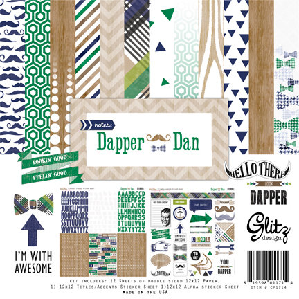 Brand New Dapper Dan Collection from Glitz Design