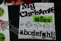 My Christmas Wish closeup