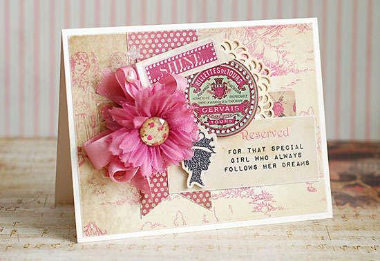 Shine Card by Lea Lawson