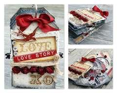 Love Tag Book