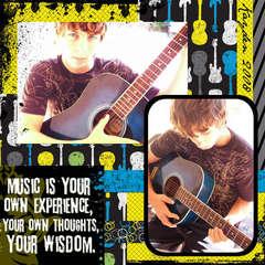 Glitz Design Guitar by Karly Robinson
