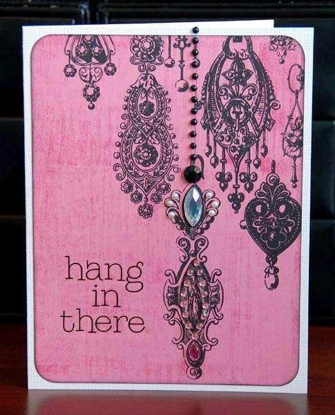 Glitz NEW HOt Mama card by Lea Lawson!