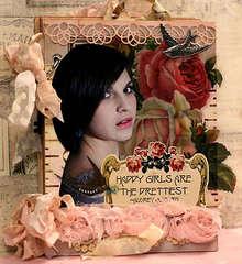 Audrey Hepburn Mini 1 by Kristii Lockart