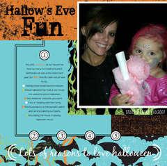Hallow's Eve Fun