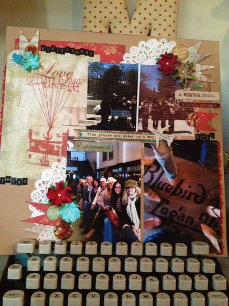 by Margie Romney featuring Happy Travels collection from Glitz Design