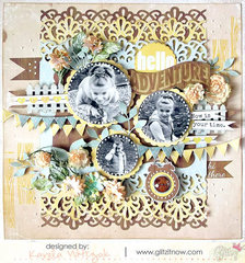 Hello Adventure by Karola Witczak featuring Sunshine in my Soul by Glitz Design