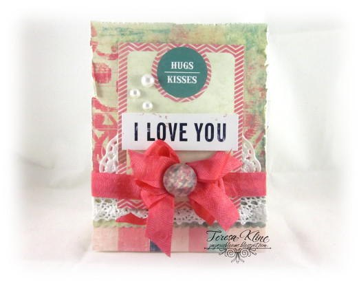 I Love You by Teresa Kline featuring Love You Madly by Glitz Design