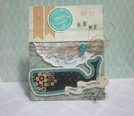 Forever Always by Teresa Kline featuring Unchartered Waters by Glitz Design