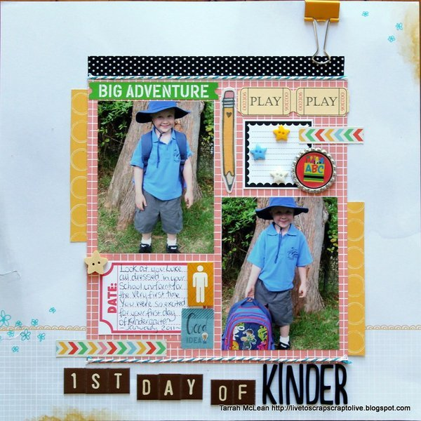 1st Day of Kinder.....