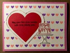 Wedding or Valentine�s Card
