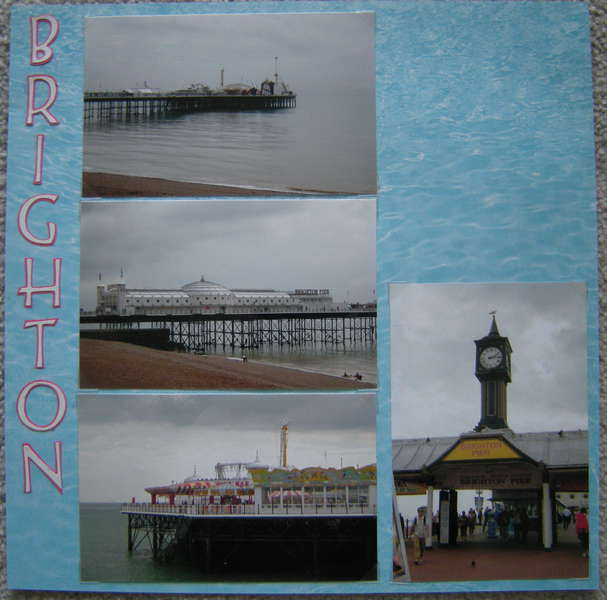 Brighton Pier - Left Side