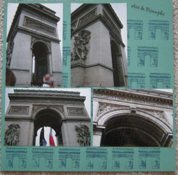 Arc de Triomphe - Right Side