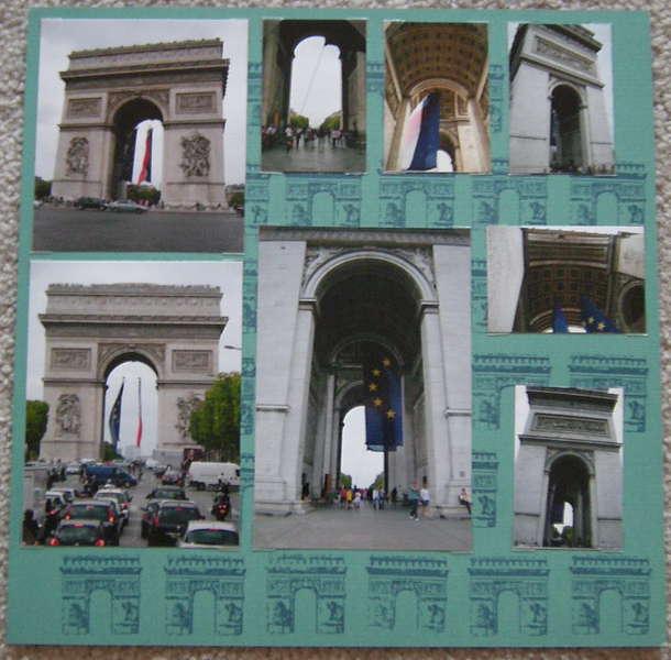Arc de Triomphe - Left Side