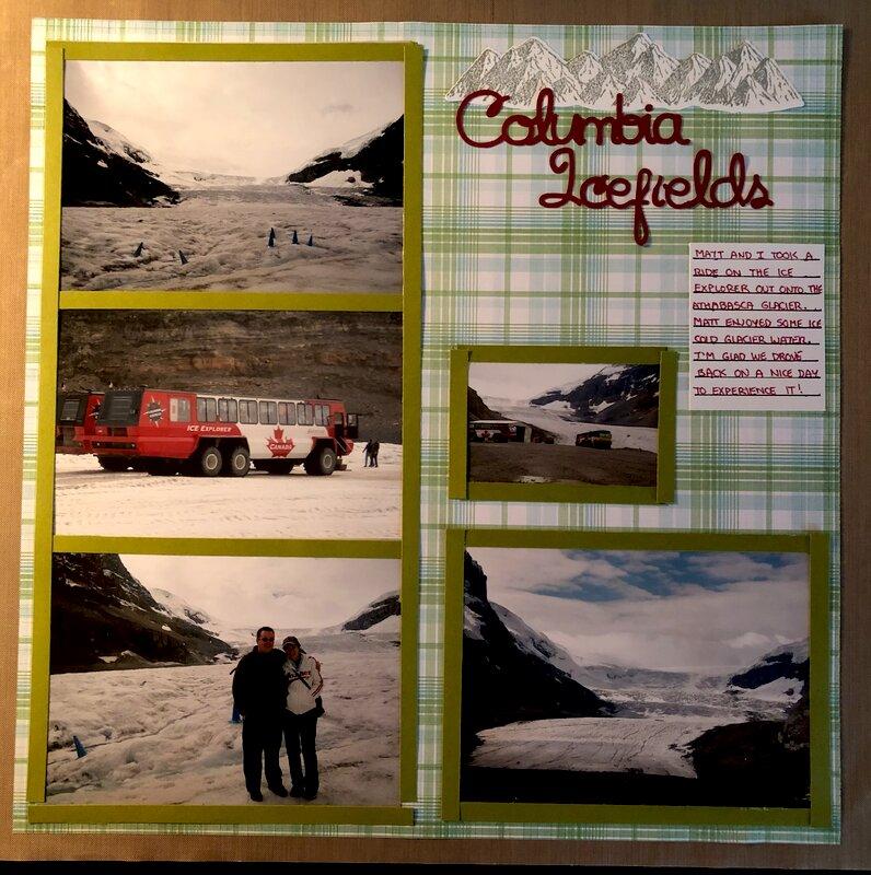 Columbia Icefields - Left
