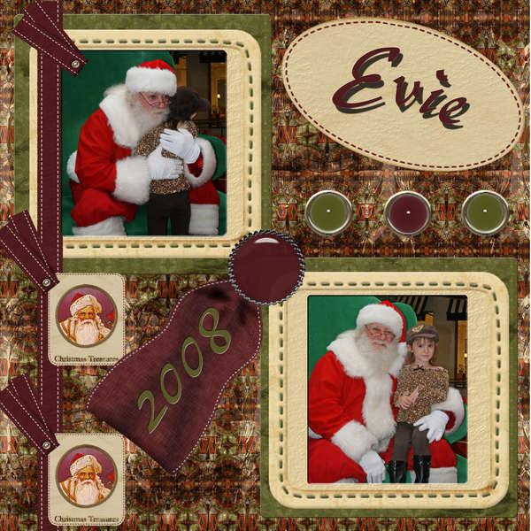 Evie Christmas 2008