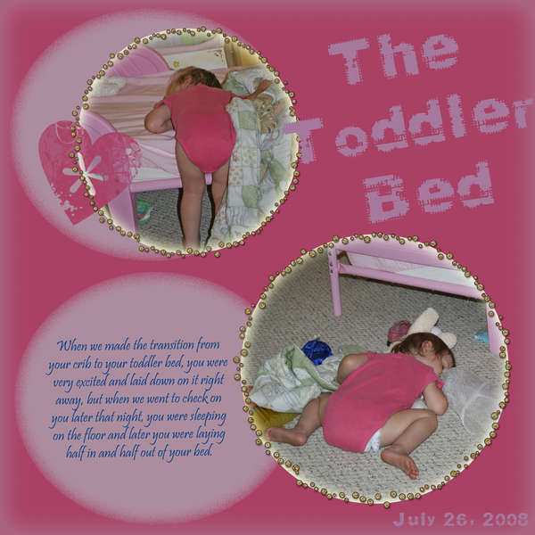 The Toddler Bed