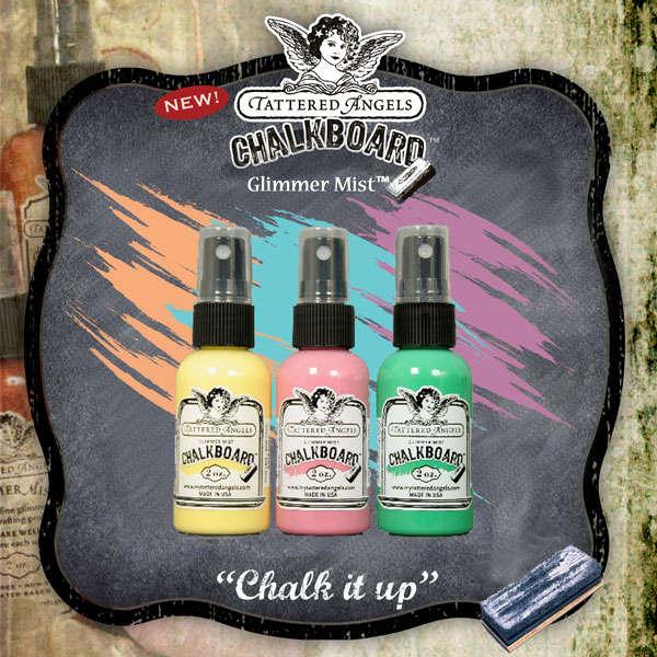 Glimmer Mist Chalkboard