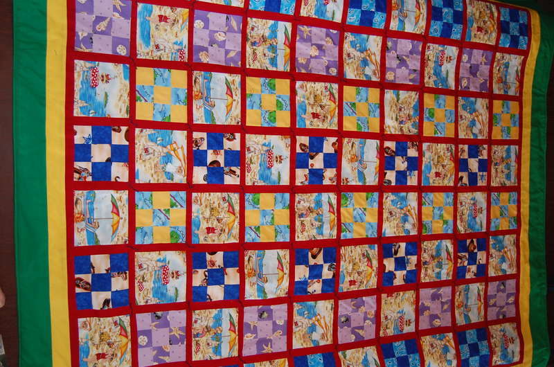 Finished Beach Quilt 1