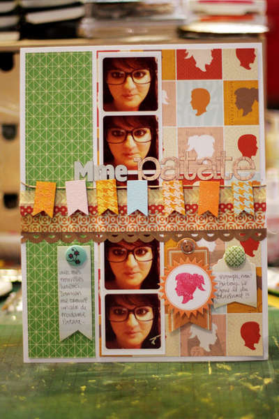 Mme Patate {Studio Calico Autumn Press}