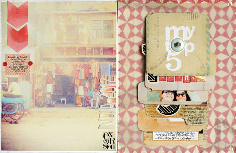 India 2012 - my TOP 5 {Studio Calico MAY kit}