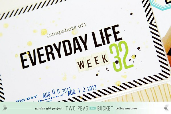 Project Life 2013 - Let's catch up on a month!
