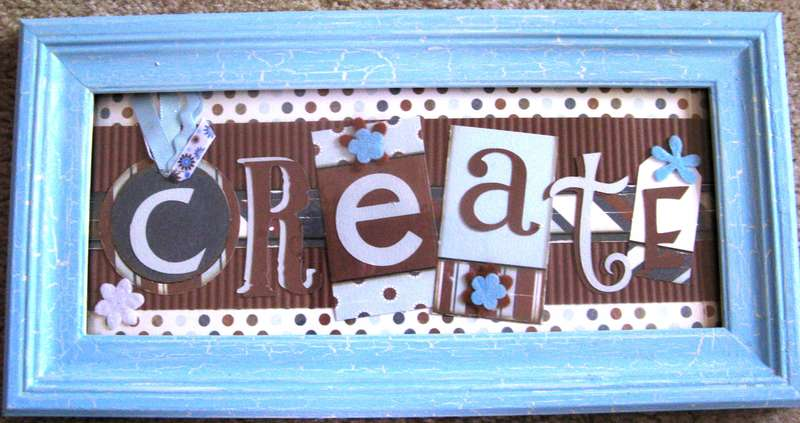 Create Wall Plaque
