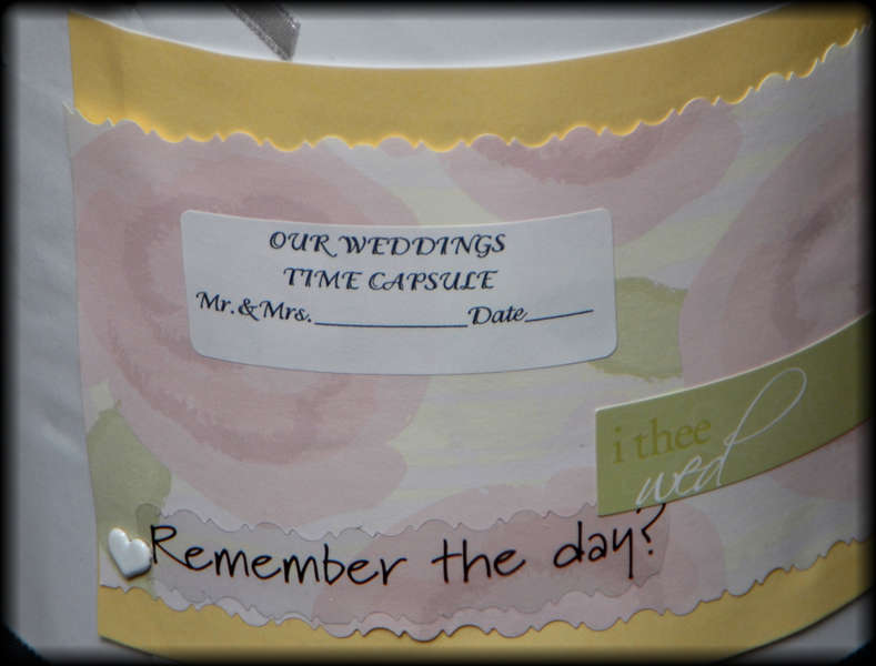 FREE Personalized Wedding/Engagement/Anniversay Time Capsule
