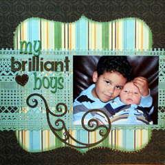 my brilliant boys