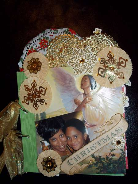 Christmas Mini Album For My Mommy 2011