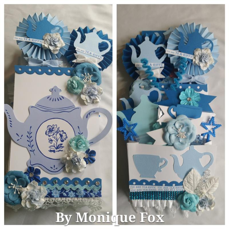 Tea loaded envelope by Monique Fox
