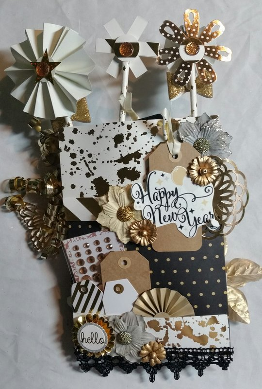 New Years Loaded Envelope by Monique Fox ***BACK***