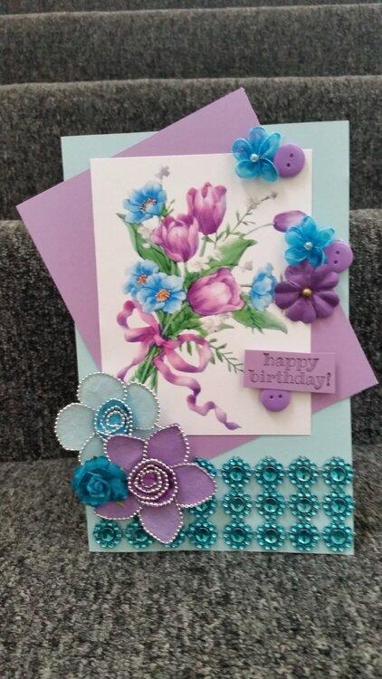 Birthday card for Ami O'Hara