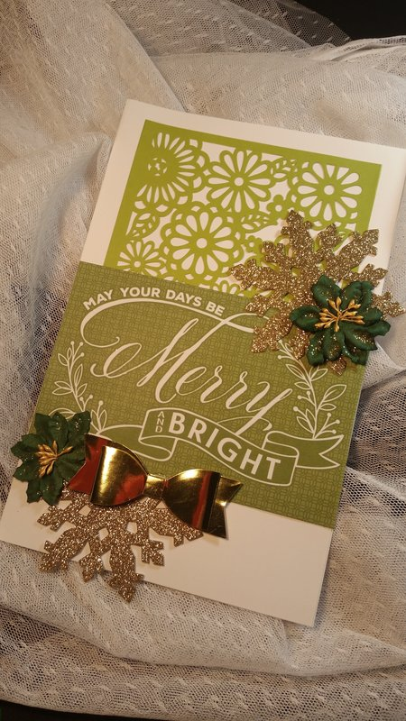 May your days be merry and bright by Monique Fox