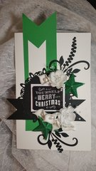 Have yourself a merry little Christmas card by Monique Fox