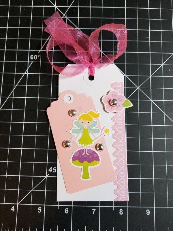 Fairy tag by Monique Nicole Fox